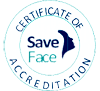 certificate of acreditation on save face